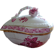 Herend Heart Dish 'Chinese Bouquet'