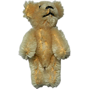 "2 3/4"" Miniature Blonde Mohair Schuco Teddy Bear"