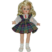 Lovely Ideal Blonde P-90 Toni Doll in Original Dress