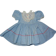 """Vintage 1950's Doll Dress to fit 22"""" Hard Plastic Doll"""