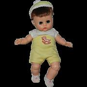 "1964 Vogue Li'l Dear 8"" Rare Boy Doll in #47636 + Nightie"