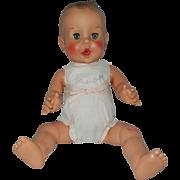 """Rare 1955 Sun Rubber 18"""" Gerber Baby in Original Clothes"""