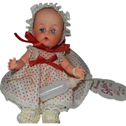 "Mint 1950's 8"" Horsman Softee Baby Doll with Hang Tag"