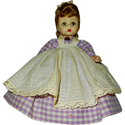 "1960's 8"" Madame Alexander Little Women ""Meg"" Doll"