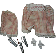 "1960's Ideal Tammy PJ's and Curlers ""Sleepy Time"" Outfit #9092-8 or #9915-0"