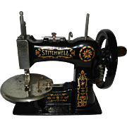 1920's Stitchwell Cast Iron Toy Sewing Machine