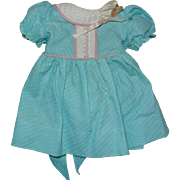 "1950's Factory Made Lovely Dress for a 16"" Girl Doll"