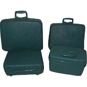 4 Piece Luggage for Ideal Tammy or Mattel Barbie