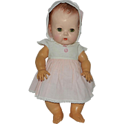 "Early 1950's 12"" Tiny Tears in Original Outfit"