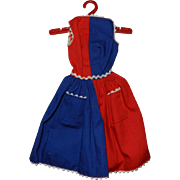 """Mattel Barbie 1963-1964 #943 """"Fancy Free"""" Dress"""