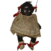 """1930's-1940's 5"""" Made in Japan Black Bisque Baby"""