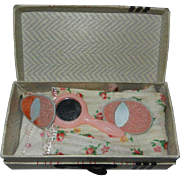 1950's Vogue Ginny Suitcase and Contents