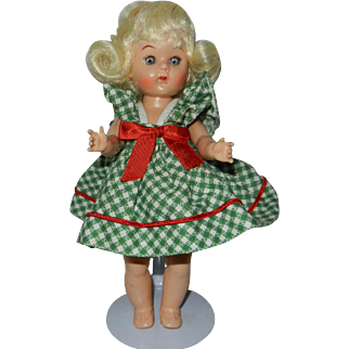 "1950's 8"" Virga Creations Doll in Original Outfit"