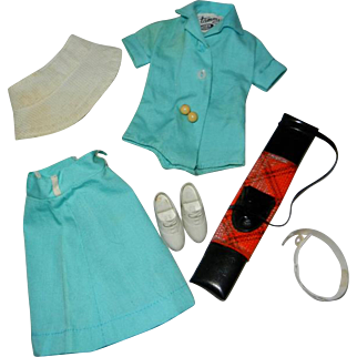 "1960's Ideal Tammy ""Tee Time"" Outfit #9118-1 or 9926-7"
