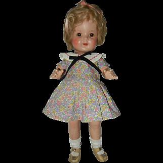 "1930's 17"" Arranbee Composition Nancy Doll"