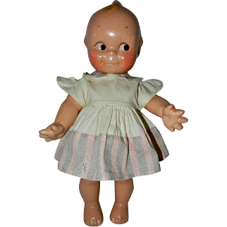 """12"""" Composition Rose O'Neill Kewpie Doll"""