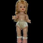 "1950's Nancy Ann Walker ""Muffie"" Doll with Brown Eyes"