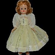 1957 Vogue Redhead Jill Doll in Nylon Dress #7416