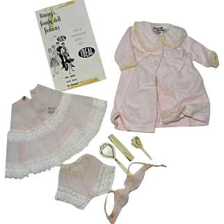 1960's Ideal Tammy Underwear and Robe for Tammy's Mom