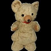 """Vintage 1930's 12"""" Knickerbocker Teddy Bear with Flat Feet"""