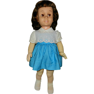 "20"" Brunette Mattel Chatty Cathy Doll"