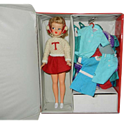 1960's Ideal Tammy Doll in Her Red Case