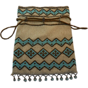 Lady's Vintage Beaded Bag