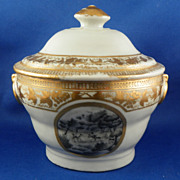 Chinese Export Porcelain Covered Sauce