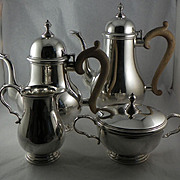 Four Piece Gorham Tea Service