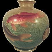 Hayashi Kodenji Japanese Ginbari Cloisonne Vase