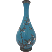 Japanese Cloisonne Vase. Meiji Period.