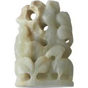 Chinese Jade Carving.  20th Century
