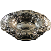 Gorham Sterling Repousse Bowl 1902