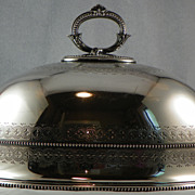 English Silverplate Dome