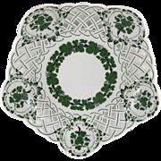 Meissen Green Ivy Pierced Bowl, Dish
