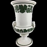 Meissen Green Ivy Urn