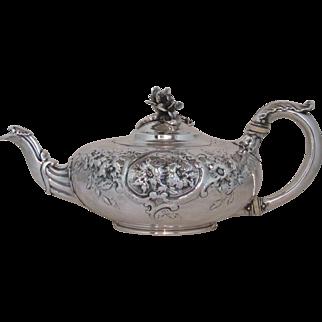 Paul Storr English Sterling Teapot London 1832