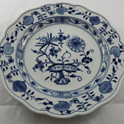 Bread and Butter Plate Meissen Blue Onion