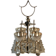 Silverplate Egg Server