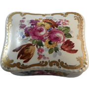 Meissen Porcelain Box.  Early 20th century.