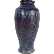 Chinese Porcelain Purple and Blue Flambe Glaze Vase. 19th Century.