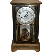 German Anniversary Clock Circa 1910