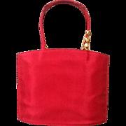 VIntage Robert Lee Morris Red Evening Bag