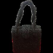 Vintage K&G Charlet Beaded Evening Bag