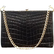 VIntage Rosenfeld Alligator Structured Handbag
