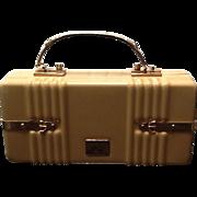 "Vintage Lewis Lucite ""Suitcase""  Funky Handbag"