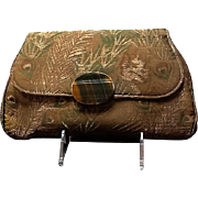 VIntage Gump's Asian Flair Silk Brocade Purse