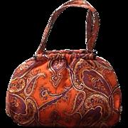 VIntage Ingber Handbag with Matching Belt