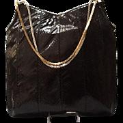 VIntage Leiber HUGE Python Hobo Bag
