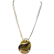 Vintage Grosse  Choker Necklace with Statement Pendant